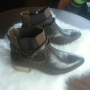 Maurices Dark Brown Booties